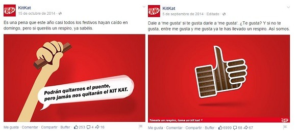 kit kat marketing visual