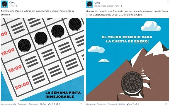 marketing visual oreo